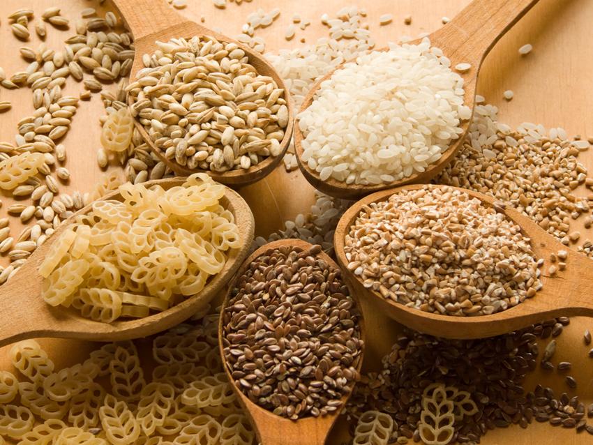 зерна и макароны