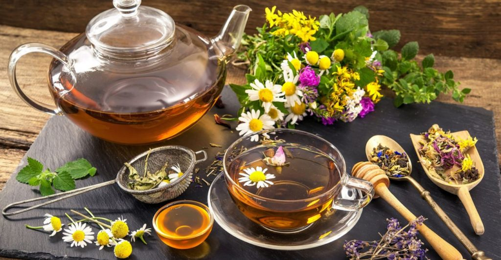 травяные чаи и напитки